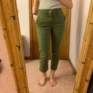 Madewell cropped chinos